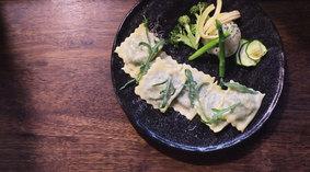 菠菜瑞可達義式餃