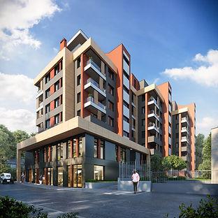 Сграда с магазини, офиси и жилища, намираща се на изключително място в кв. Павлово.