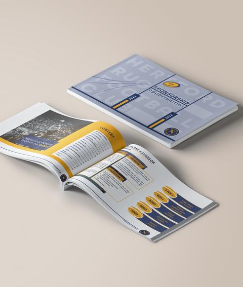 HRFC sponsorship brochure