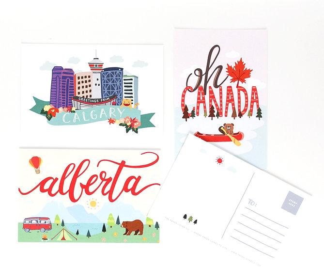 Canadian Postcards