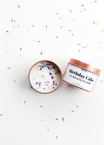 Birthday Cake Candle (4oz tin)