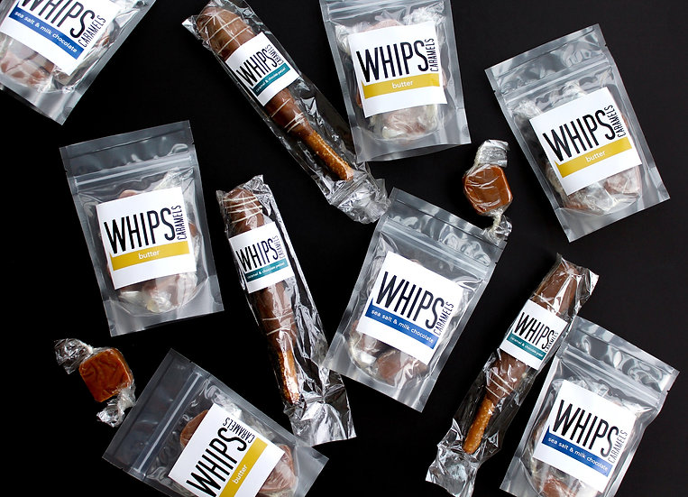 WHIPS Caramels