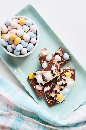 White & Milk Chocolate Bark