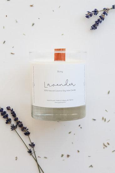 Lavender Candle (10oz jar)