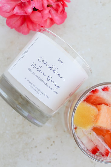 Bahama Berry and Melon Candle (10oz jar)