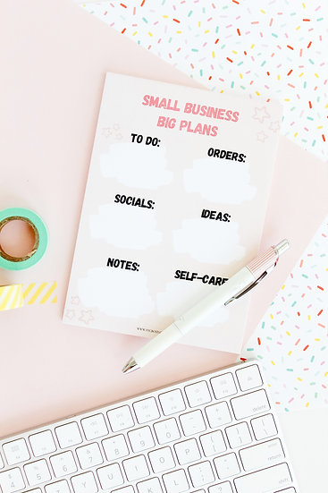 Small Business Notepad