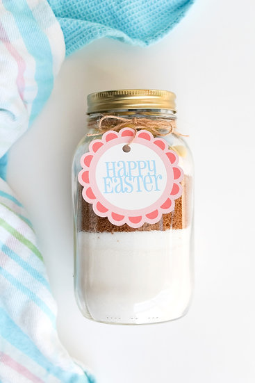 Easter Cookie Mix Jar