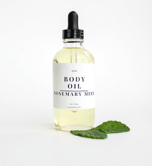 Body Oil - Rosemary Mint