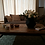 Thumbnail: Table basse rectangle métal et chêne