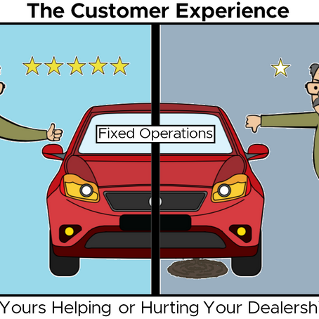 Fixed Ops - Providing the Right Customer Experience
