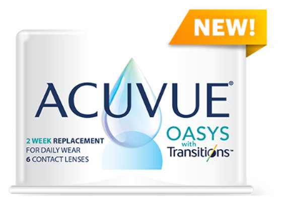 Acuvue Oasys with Transitions™ 8.4/8.8