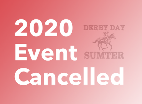 Derby Day 2020 Cancelled