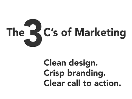 The 3 C's of Marketing