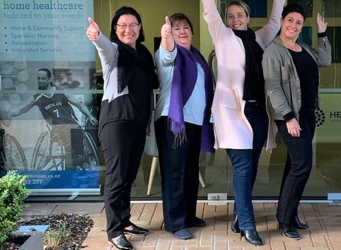 New Healthvision Bay of Plenty Office gets the thumbs up!