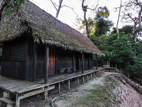 Private cabins accommodation in Pampas Yuruma Journeys