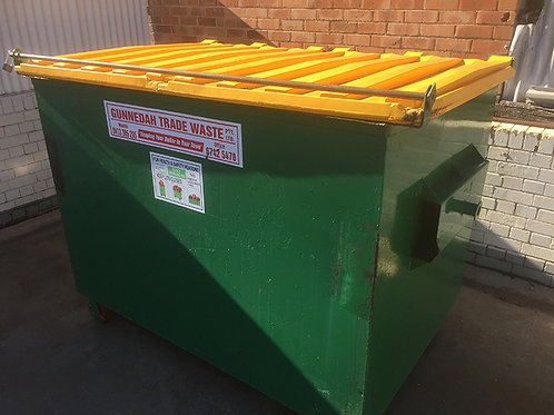 Permanent recycling bin 3m3 — for businesses only