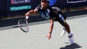 Montsi Wins Nail Biter, Advances to SA Spring Open second round