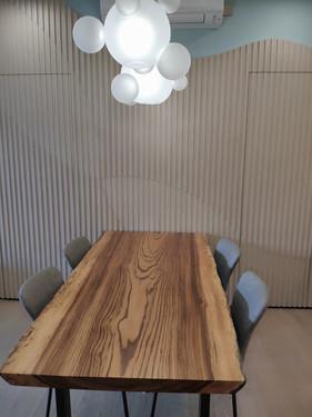 Zebrano wood slab