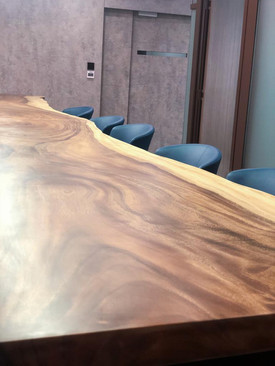 Walnut Wood Slab table top
