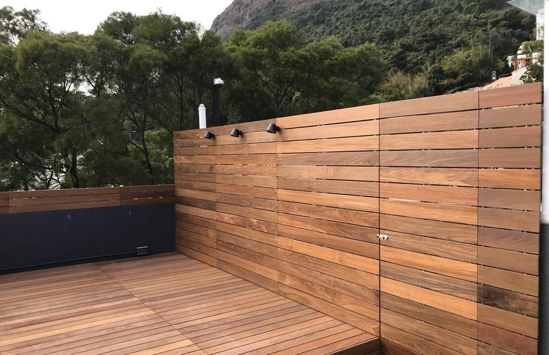 Ipe deck & fence