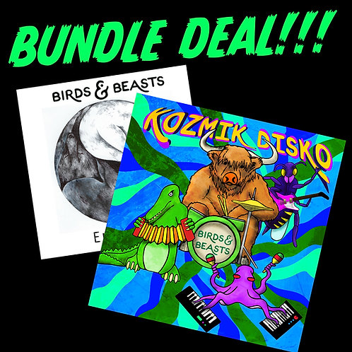 "Album bundle deal - 12"" vinyl"
