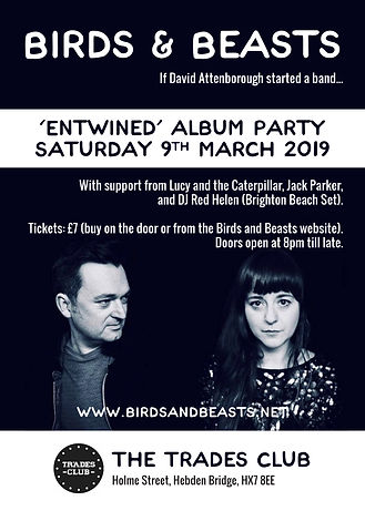 Birds and Beasts - Entwined Album Party
