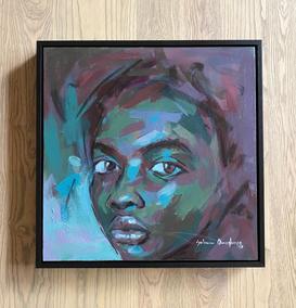 Solomon Omogboye | Pensive Figure