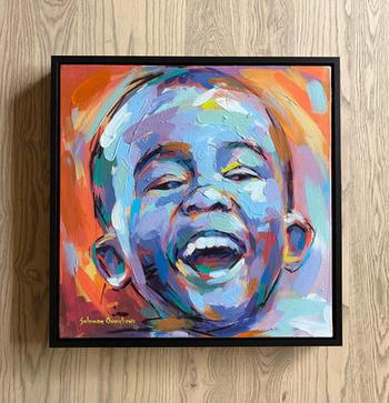 Solomon Omogboye | Laughing Child