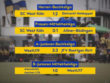 Der Spieltag des SC West - 05/06.09