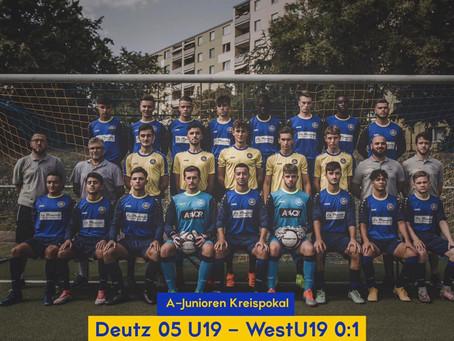Pokal: WestU19 siegt in Deutz und wirft Mittelrheinligisten aus dem Pokal