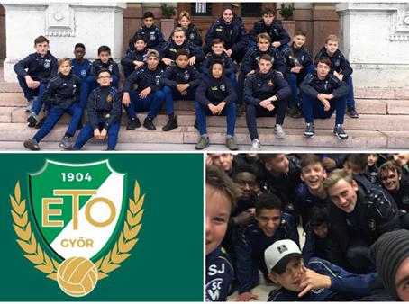 WestU14 zu Gast bei ETO FC Gyor