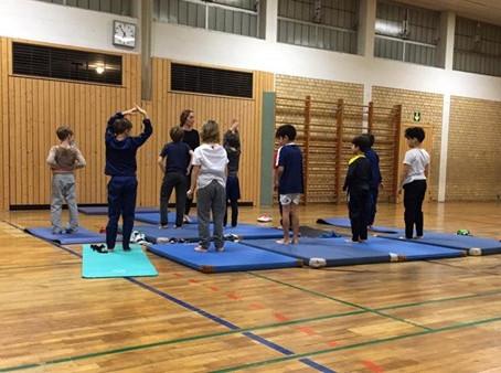 Yoga für die Westjunioren