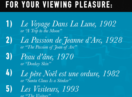 French Movie Suggestions