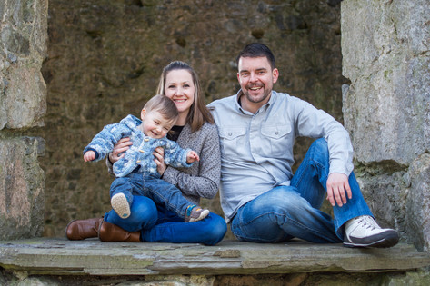 The Hamilton Kerr Family on location