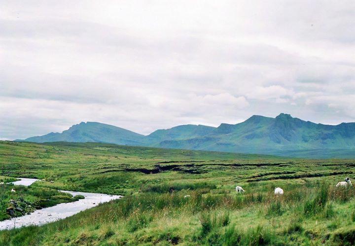 The Isle of Skye countryside