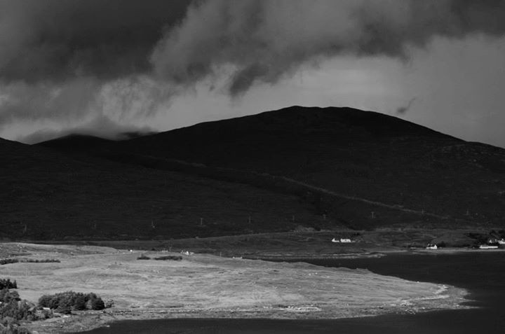 Incoming storm on the Isle of Harris