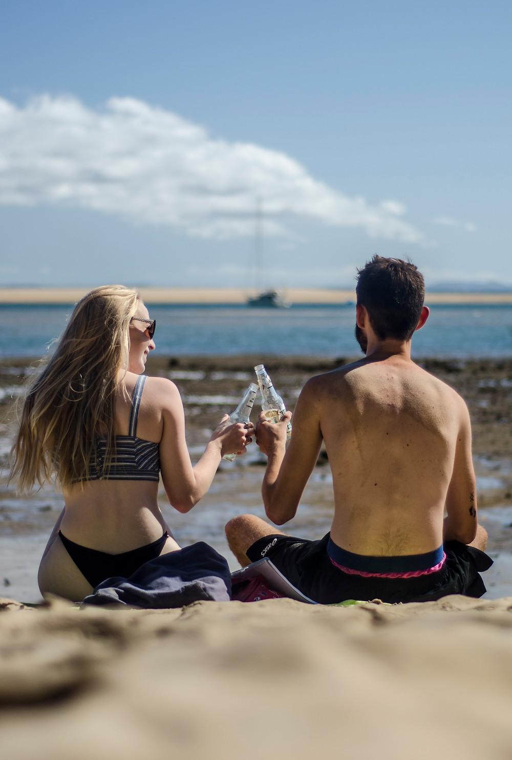 Seventeen-Seventy Beach chilling