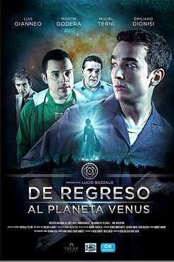 Afiche - De Regreso al Planeta Venus
