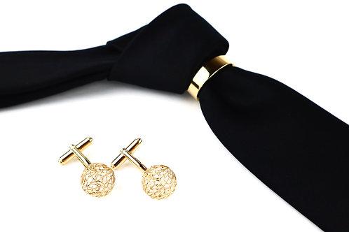 Tie Ring & Cufflink Set