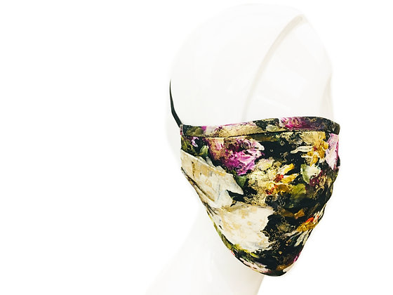 CARAS Signature Floral Face Mask