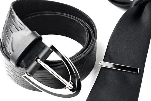 Belt & Tie Bar Set
