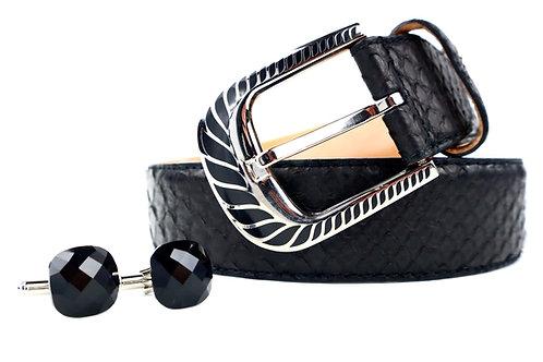 Belt & Cufflink Set