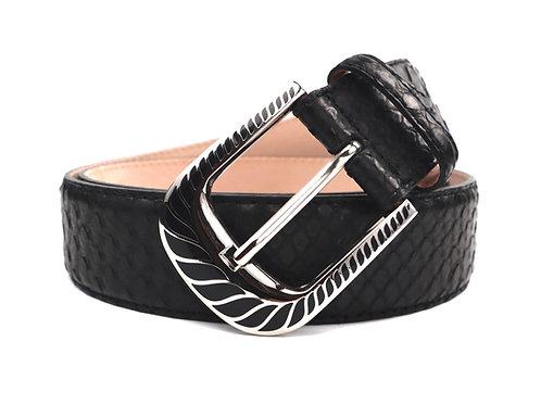 Genuine Python Belt
