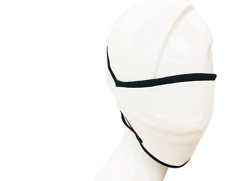 Ribbed Cotton Face Mask