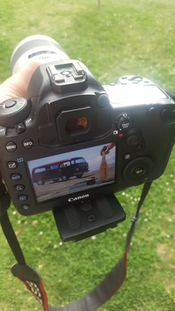 Behind the scenes - West Auckland Photoshoot
