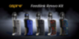 AspireFeedlink Revvo Kit, an all new Aspire squonk mod with a slightly redesigned Revvo boost tank