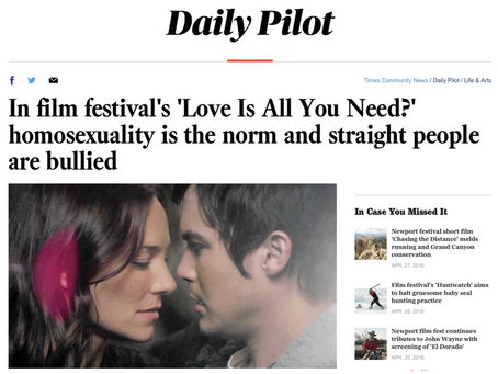 """Newport Beach Film Festival Presents """"Love Is All You Need"""""""