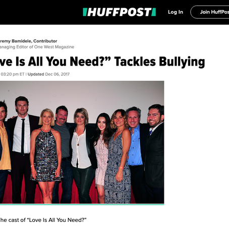 """""""Love is All you Need?"""" Tackles Bullying"""