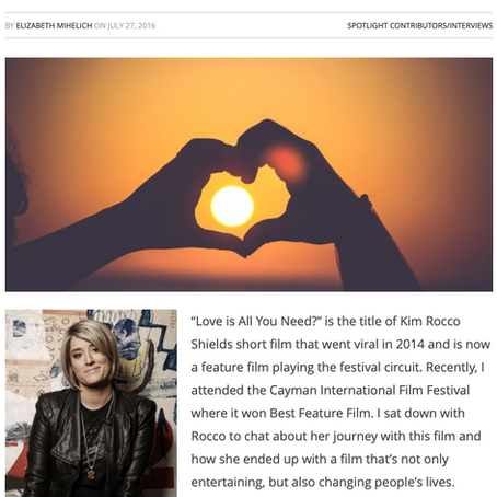 """Love is All You Need?"" A Spotlight piece on Kim Rocco Shields"