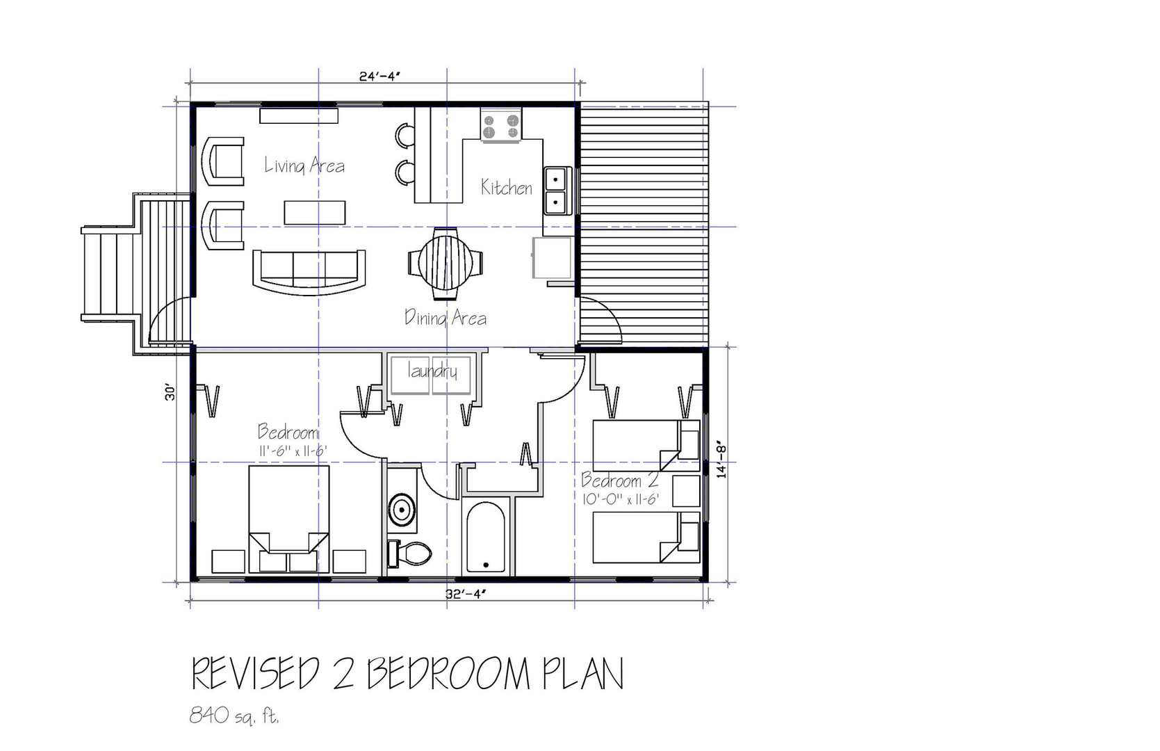 RESTORATION 2 Bedroom Plan (Revised)-pag